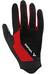 VAUDE M's Dyce Gloves black/red